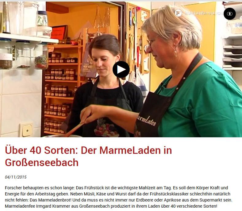 Frankenfernsehen Sendung vom 03.11.2015Frankenfernsehen Sendung vom 03.11.2015