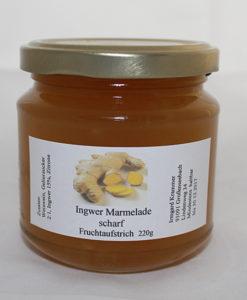 Ingwer Marmelade scharf - Fruchtaufstrich