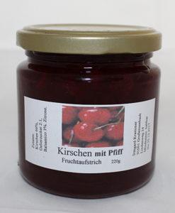 Kirschen mit Pfiff (Baslsamico) Fruchtaufstrich