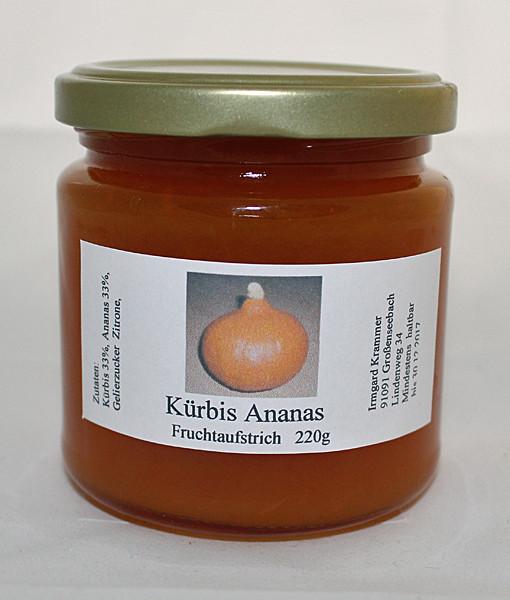 Kürbis Ananas Fruchtaufstrich – Marmelade