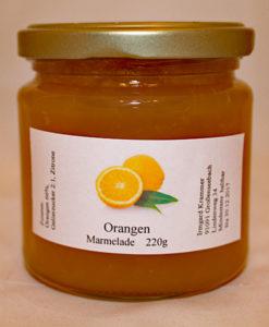 Orangen Fruchtaufstrich