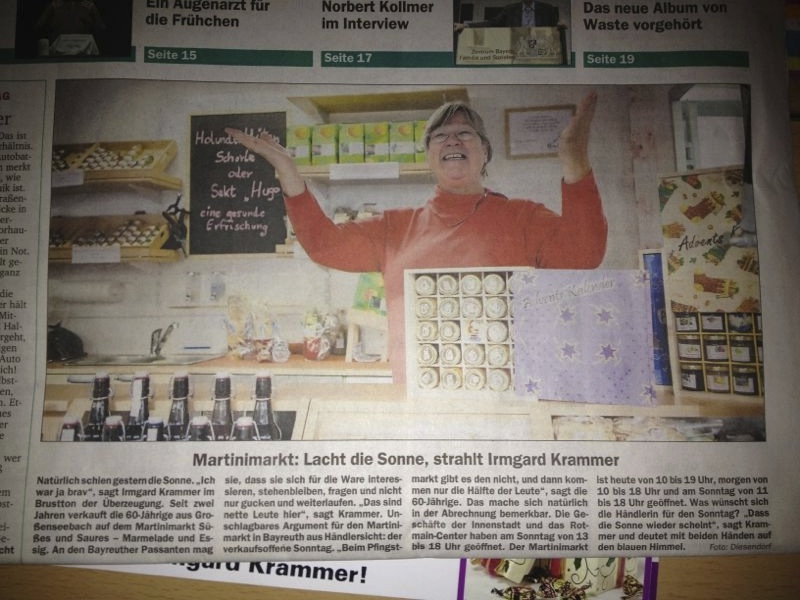 Bayreuther Nachrichten 03.11.2012