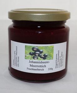 Johannisbere-Merrettich Fruchtaufstrich