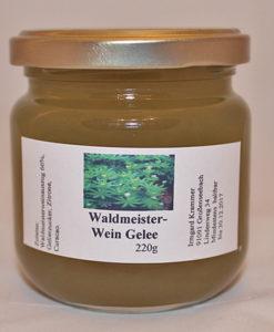 Waldmeister Wein Gelee