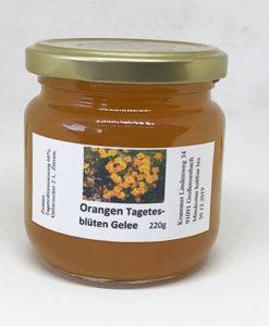 Orangen Tagetes Gelee