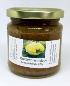 Quitten Marmelade