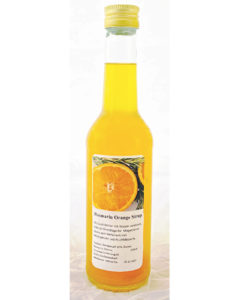Rosmarin Orange Sirup
