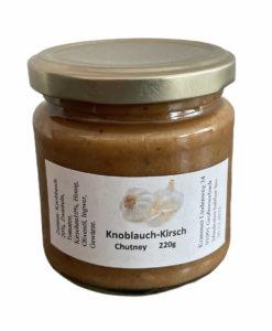 Knoblauch Kirsch Chutney